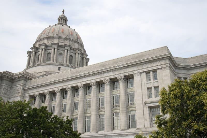 Het Kapitaal van de Staat van Missouri stock foto