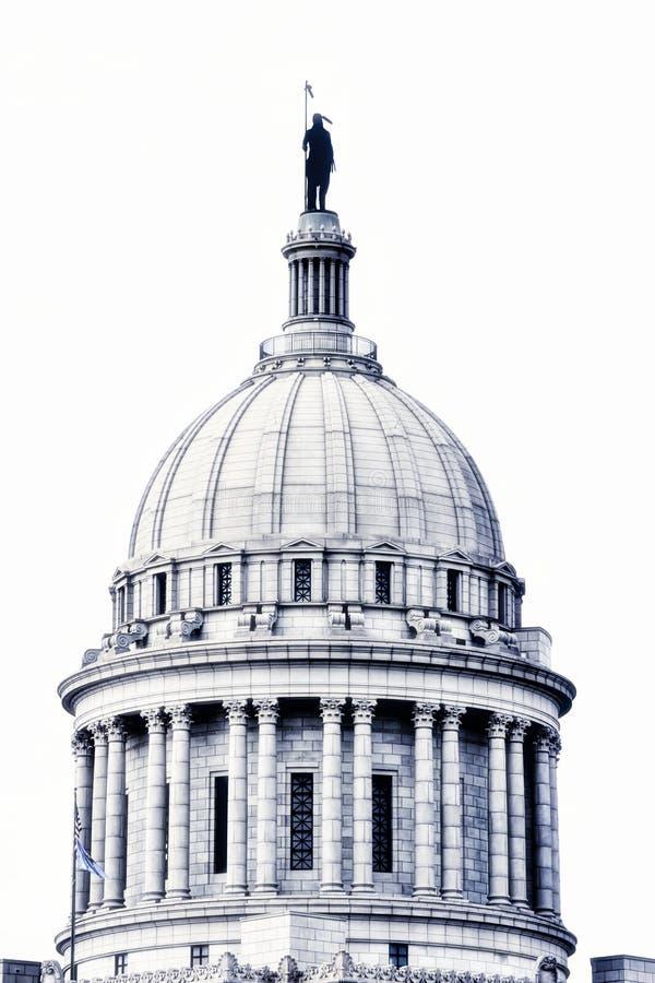 Het Kapitaal van de Staat van Oklahoma, Oklahoma City stock foto's