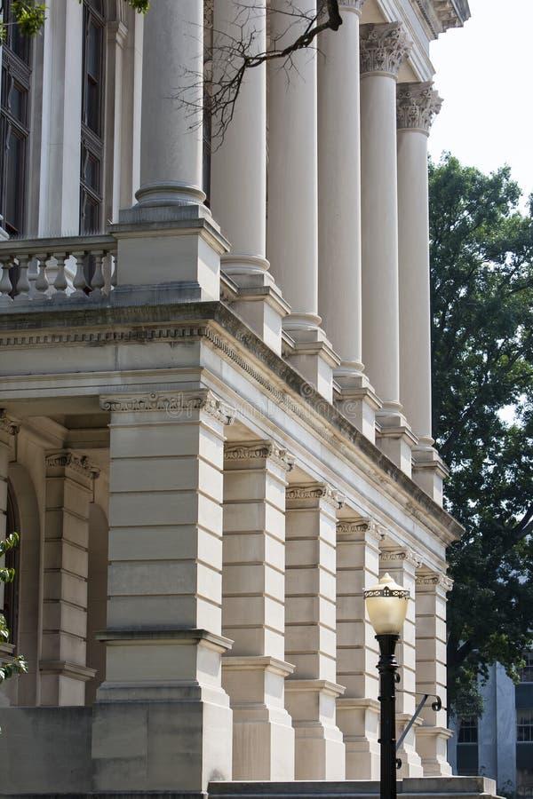 Het Kapitaal van de Staat van Georgië royalty-vrije stock foto's