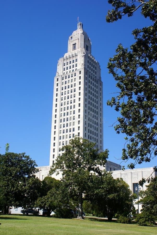 Het Kapitaal van de Staat van Louisiane royalty-vrije stock foto's