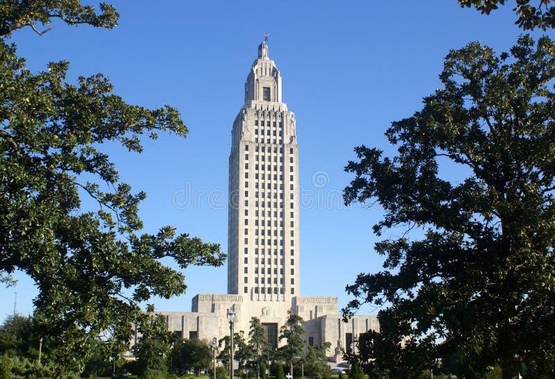 Het Kapitaal van de Staat van Louisiane royalty-vrije stock fotografie