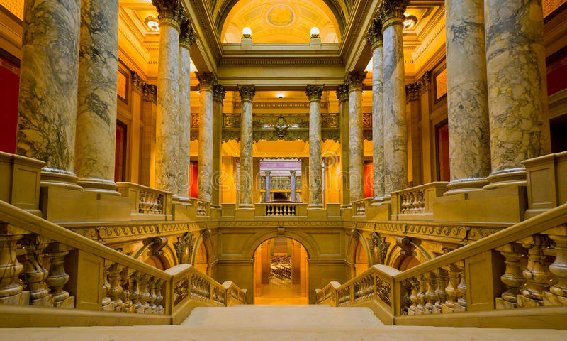 Het Kapitaal van de Staat van Minnesota royalty-vrije stock fotografie