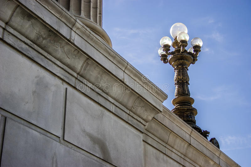 Het Kapitaal van de Staat van Missouri stock afbeeldingen