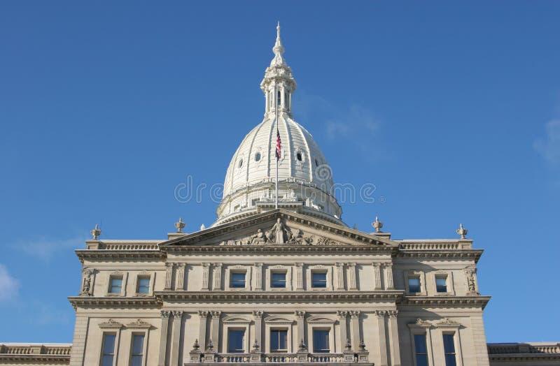 Het Kapitaal van Michigan royalty-vrije stock afbeeldingen