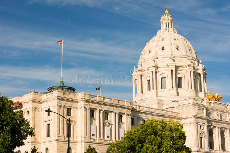 Het Kapitaal van Minnesota stock fotografie