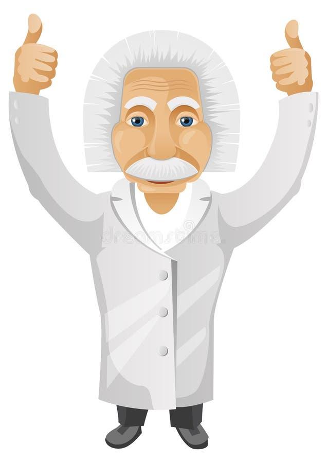Einstein vector illustratie