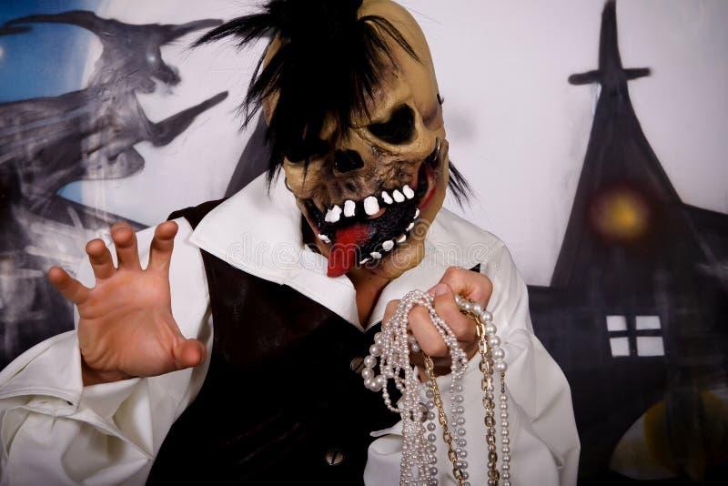 Het karakter van Halloween stock foto