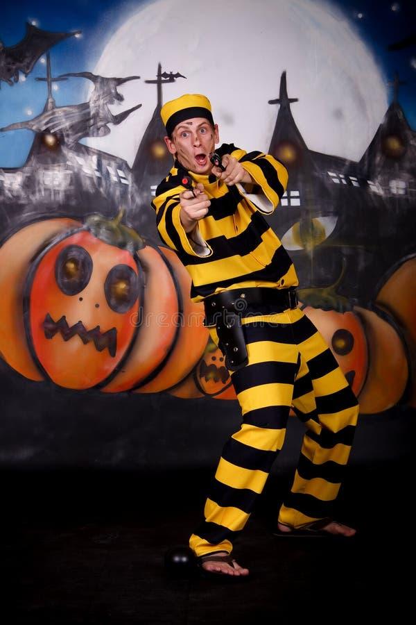 Het karakter van Halloween Dalton stock afbeeldingen