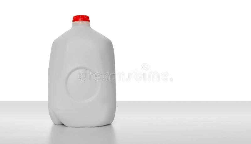 Het Karton van de Melk van de gallon stock afbeeldingen