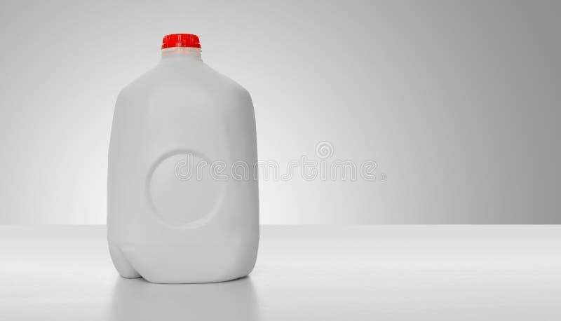 Het Karton van de Melk van de gallon royalty-vrije stock foto