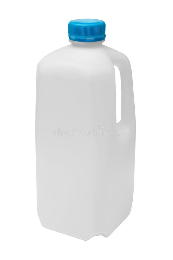 Het karton van de melk voor recycling stock afbeeldingen