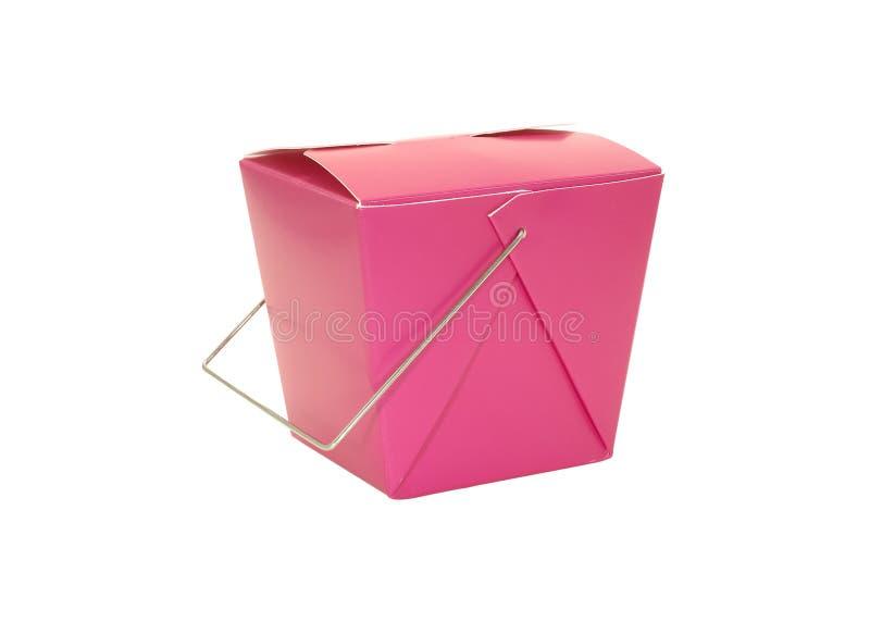 Het Karton van het voedsel stock afbeelding