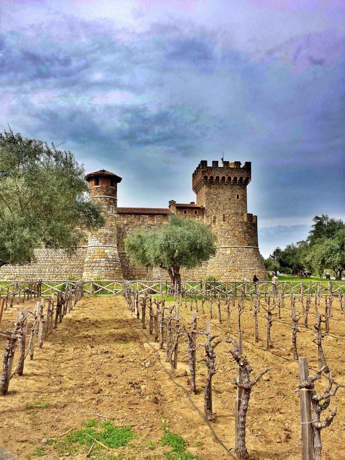 Het kasteel royalty-vrije stock afbeeldingen