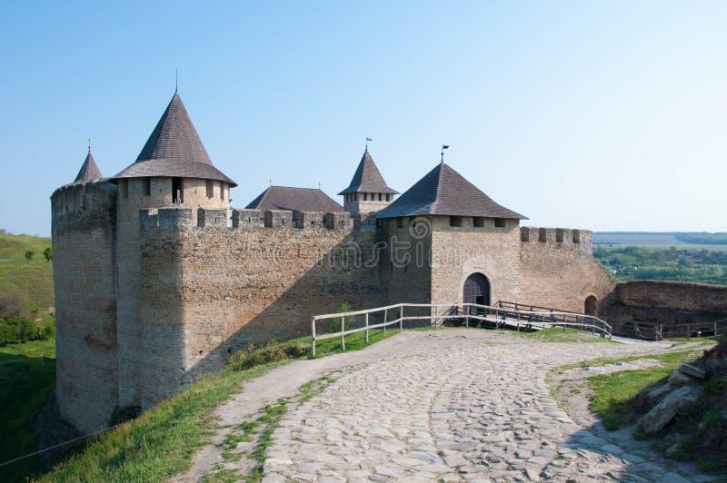 Het kasteel stock afbeeldingen