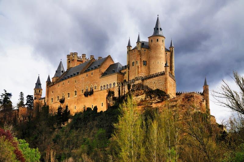 Alcazar van Segovia, Spanje royalty-vrije stock foto