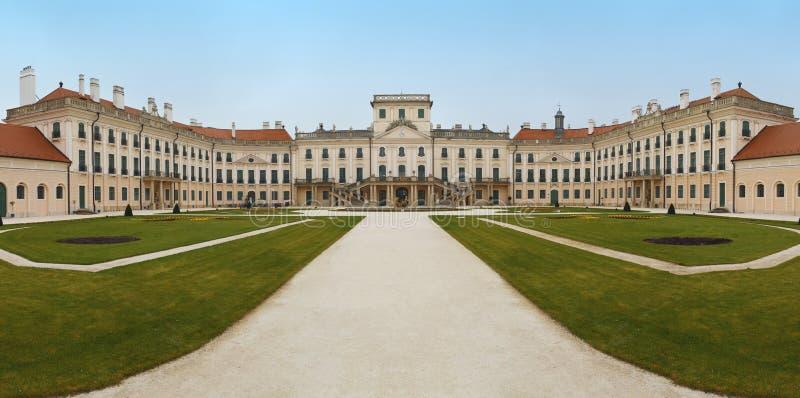 Het kasteel Esterhazy stock foto's