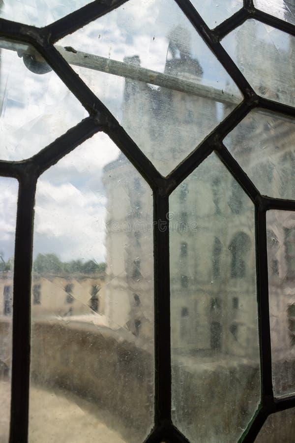 Het Kasteel Frankrijk van Chambord stock afbeeldingen