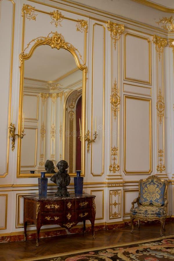 Het Kasteel Frankrijk van Chambord stock fotografie