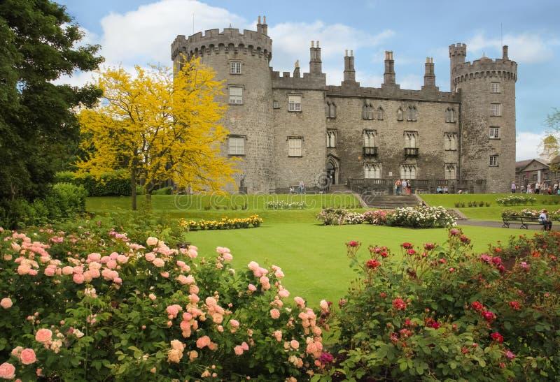 Het kasteel Kilkenny ierland royalty-vrije stock foto's