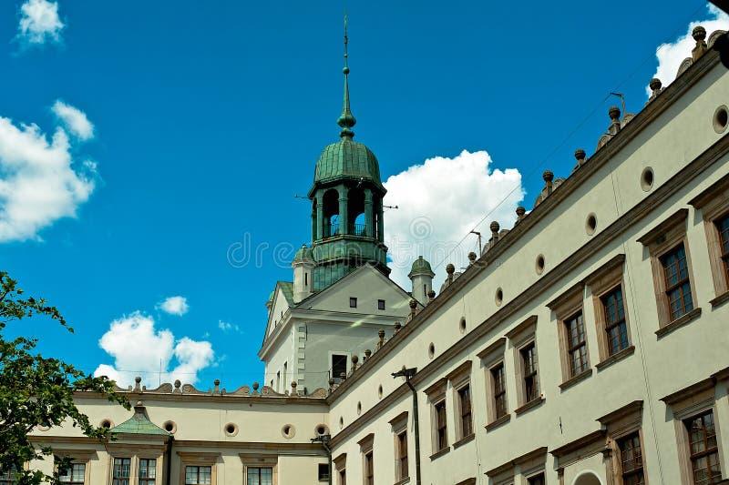 Het Kasteel Szczecin royalty-vrije stock fotografie