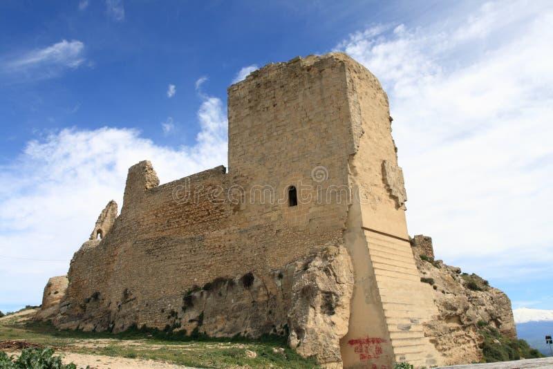 Het kasteel van Agira royalty-vrije stock afbeelding