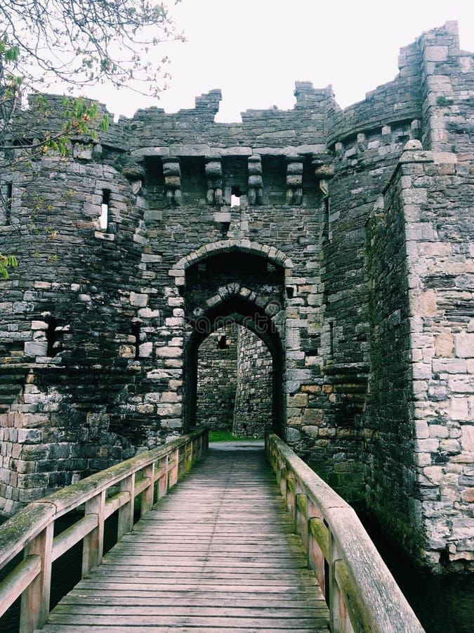 Het kasteel van Beaumaris royalty-vrije stock afbeelding