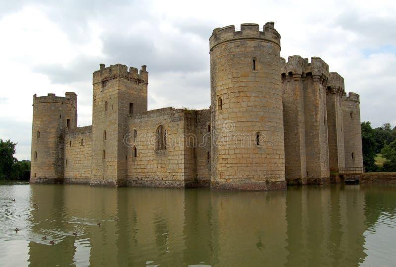 Het kasteel van Bodiam royalty-vrije stock fotografie