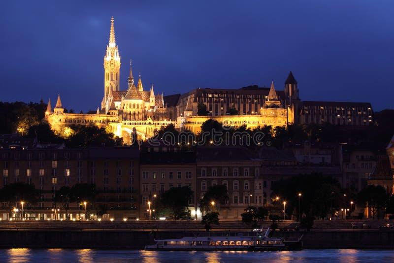 Het kasteel van Boedapest royalty-vrije stock foto