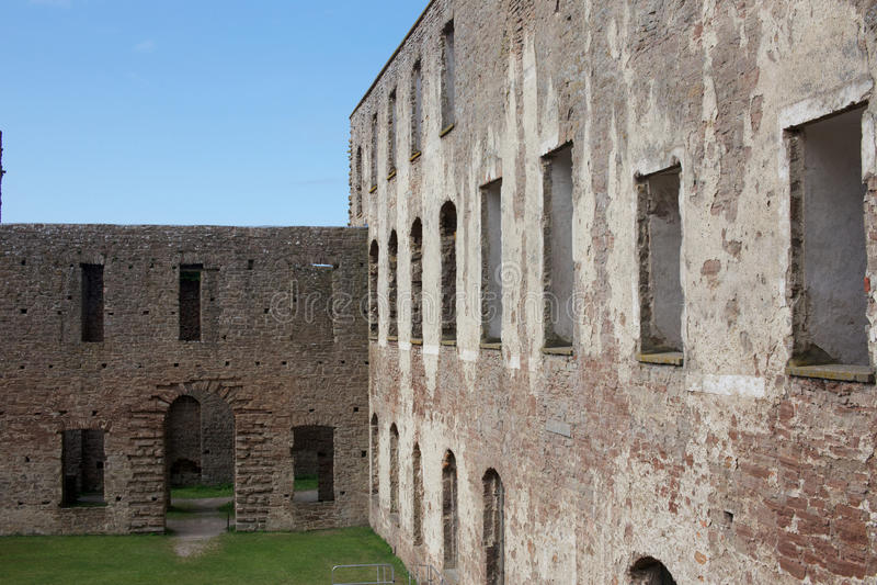 Het kasteel van Bornholms royalty-vrije stock afbeelding