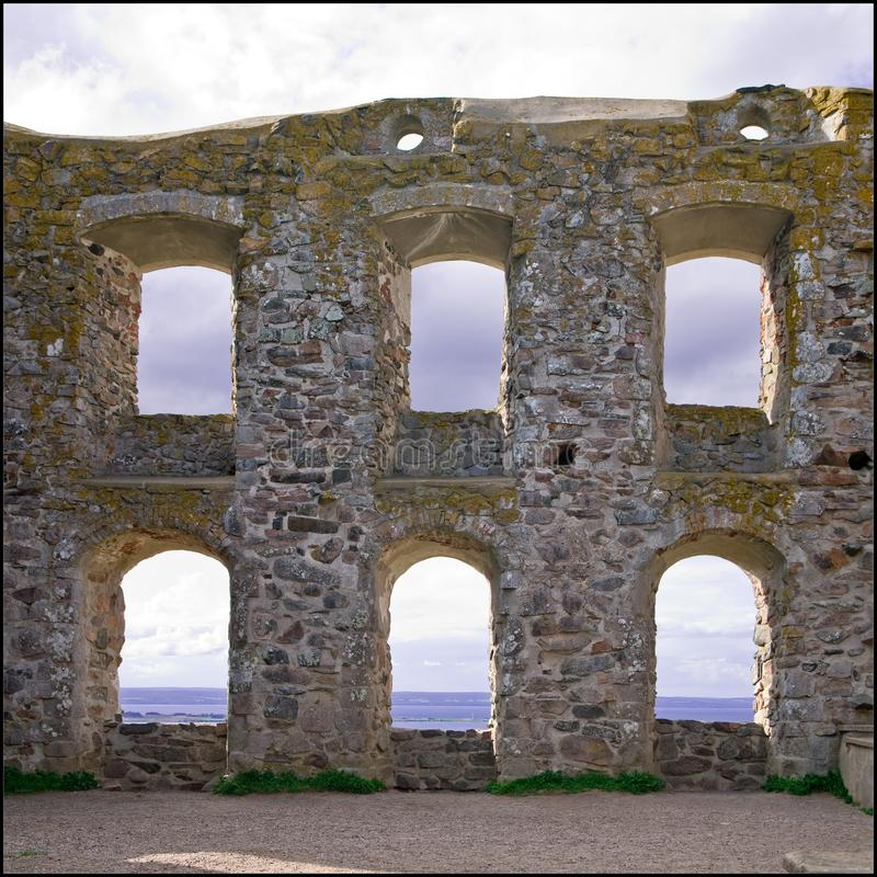 Het Kasteel van Brahehus   royalty-vrije stock fotografie