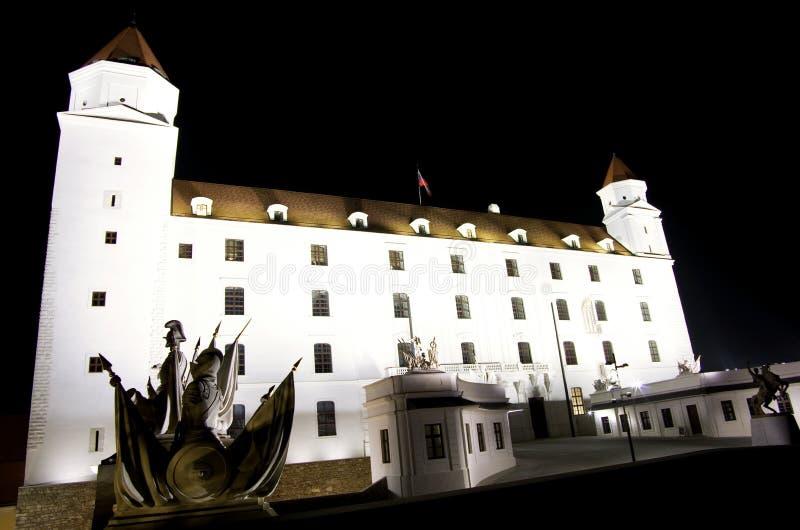 Het Kasteel van Bratislava stock fotografie