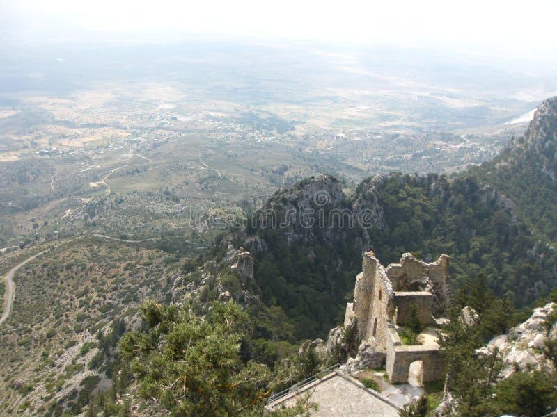 Het Kasteel van Buffaventokruisvaarders, Cyprus royalty-vrije stock afbeelding