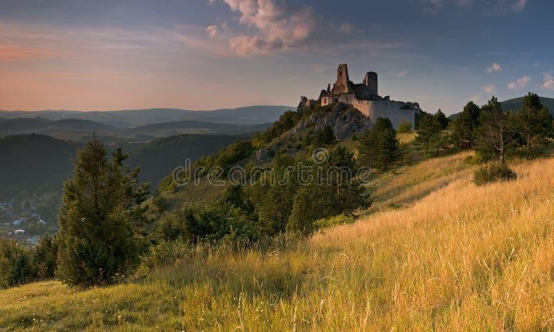 Het kasteel van Cachtice royalty-vrije stock foto's
