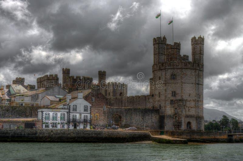 Het Kasteel van Caernarfon royalty-vrije stock fotografie