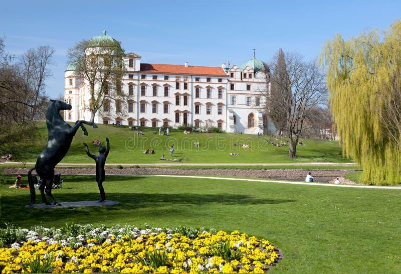Het Kasteel van Celle, Duitsland royalty-vrije stock afbeelding