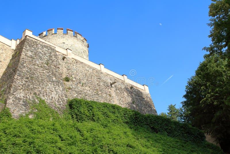 Het Kasteel van Ceskysternberk, Czechia royalty-vrije stock afbeelding