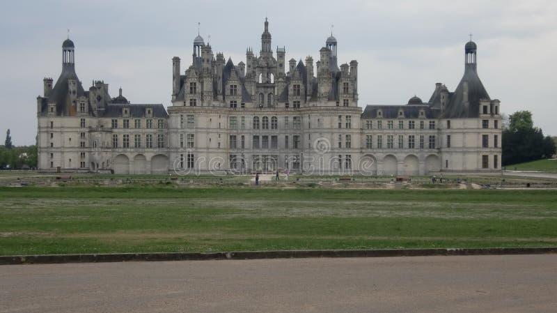 Het kasteel van Chambord in Frankrijk royalty-vrije stock foto