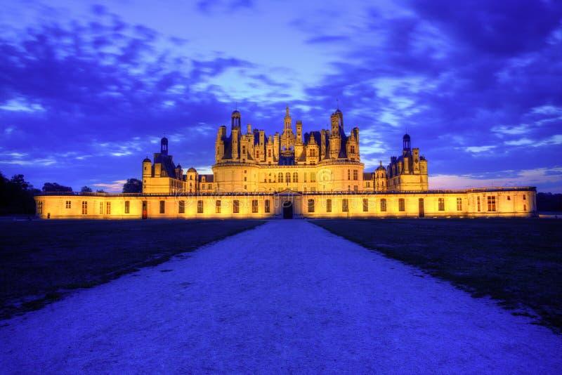 Het Kasteel van Chambord - Frankrijk royalty-vrije stock afbeelding