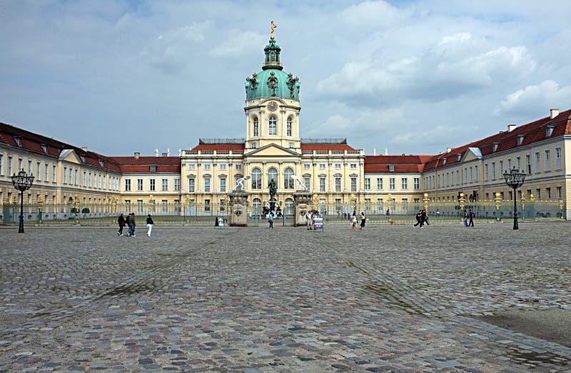 Het kasteel van Charlottenburg stock foto