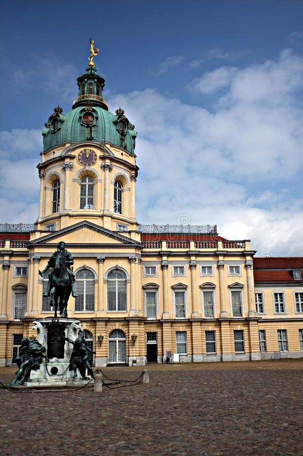 Het kasteel van Charlottenburg royalty-vrije stock foto