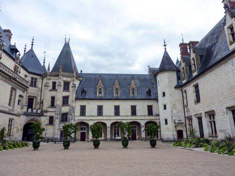 Het kasteel van Chaumont stock fotografie