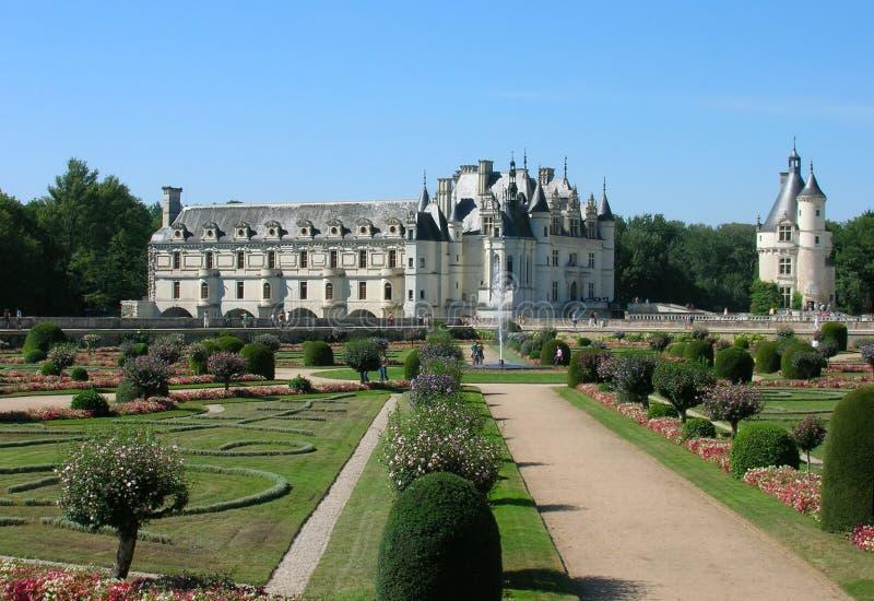 Het Kasteel van Chenonceaux royalty-vrije stock foto