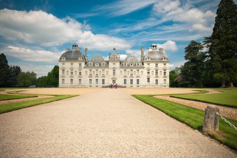 Het kasteel van Cheverny royalty-vrije stock foto's