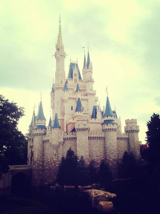 Het kasteel van Cinderella royalty-vrije stock afbeeldingen
