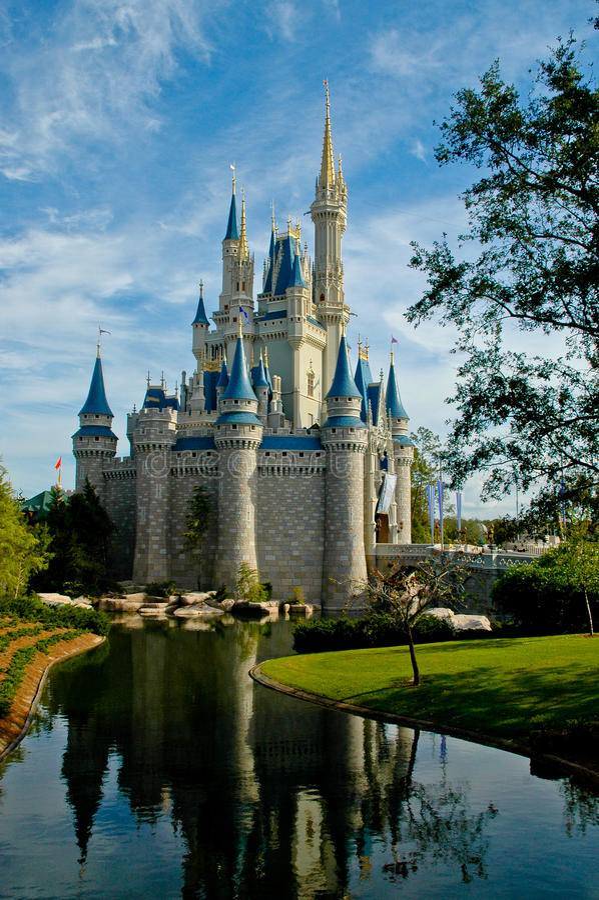 Het Kasteel van Cinderella, Disneyworld, Orlando royalty-vrije stock foto's