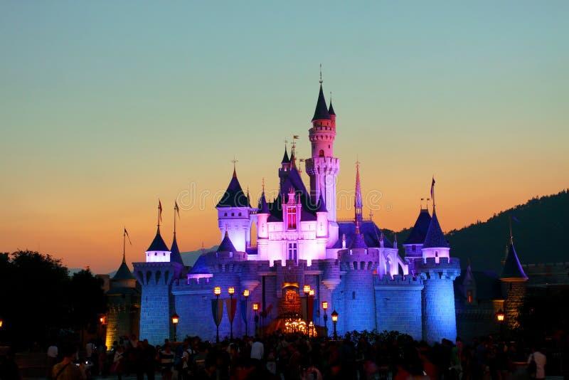 Hong Kong Disneyland royalty-vrije stock afbeelding