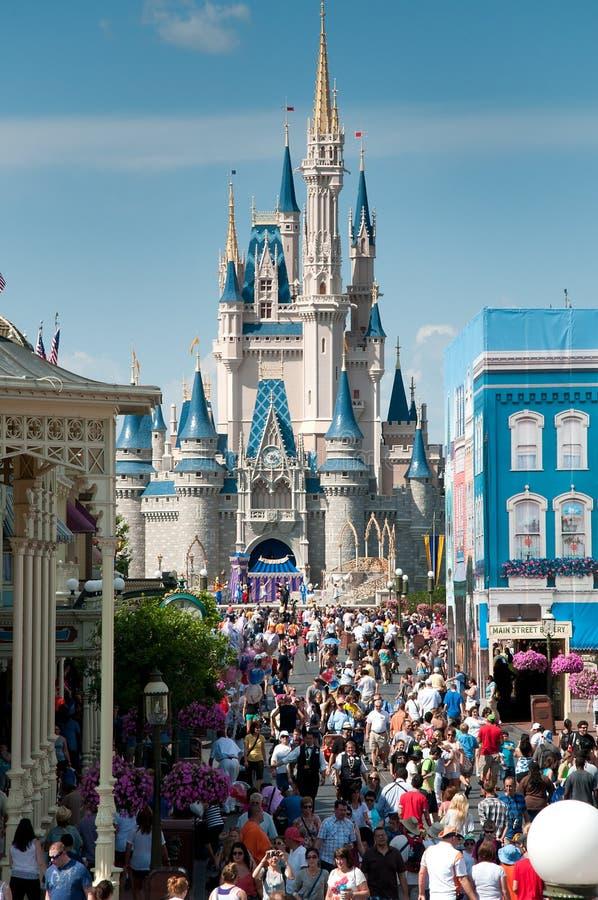 Het Kasteel van Cinderella - Magisch Koninkrijk royalty-vrije stock foto