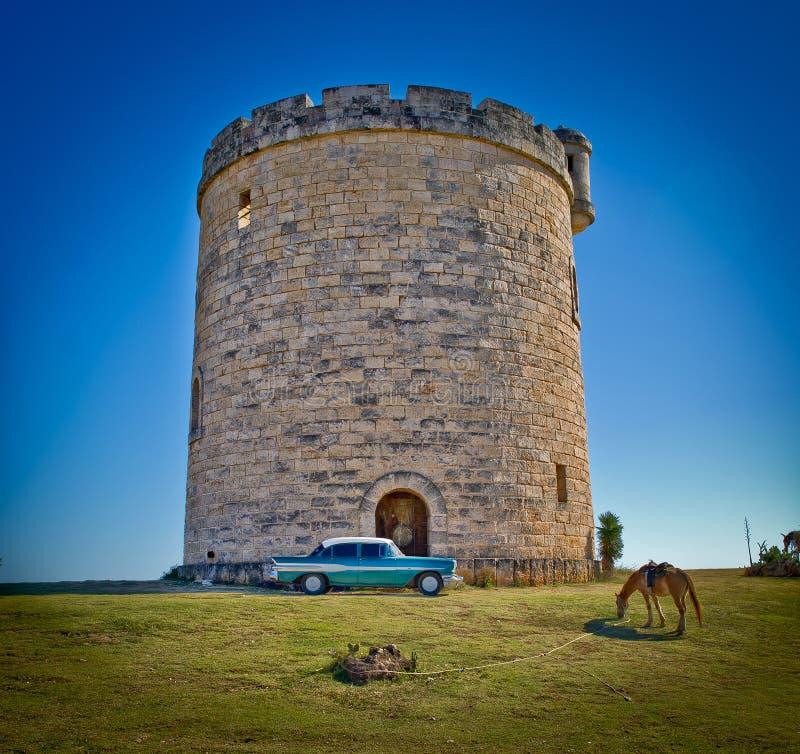 Het kasteel van Cuba stock foto's