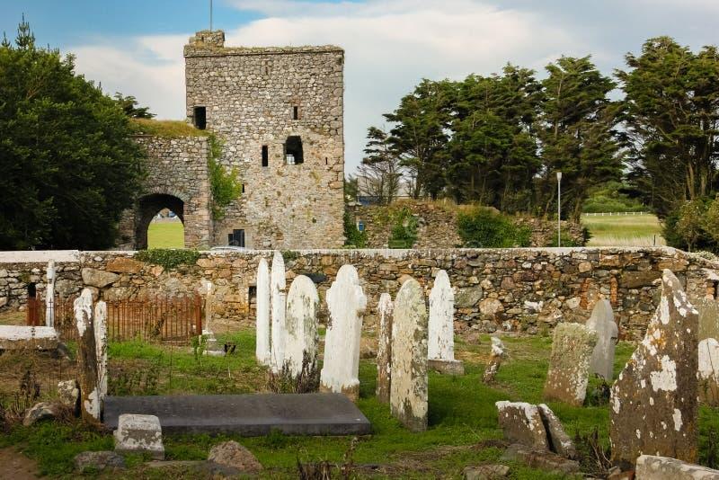 Het Kasteel van het dame` s Eiland provincie Wexford ierland royalty-vrije stock foto