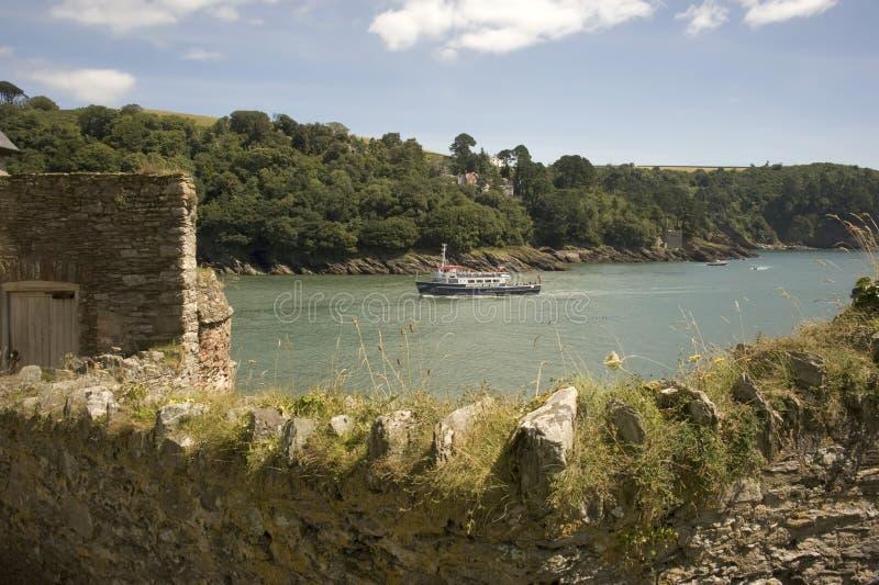 Het kasteel van Dartmouth royalty-vrije stock foto's